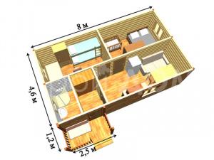Схема и планировка по заказу Клиента. Строительство в Клину, Солнечногорске, Конаково.