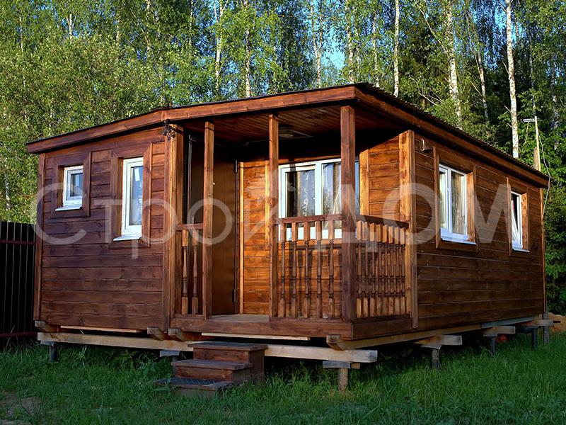 """Домик садовый """"ВАЛДАЙ"""" на участке в Клину, Солнечногорске, Конаково. Купить с доставкой недорого."""