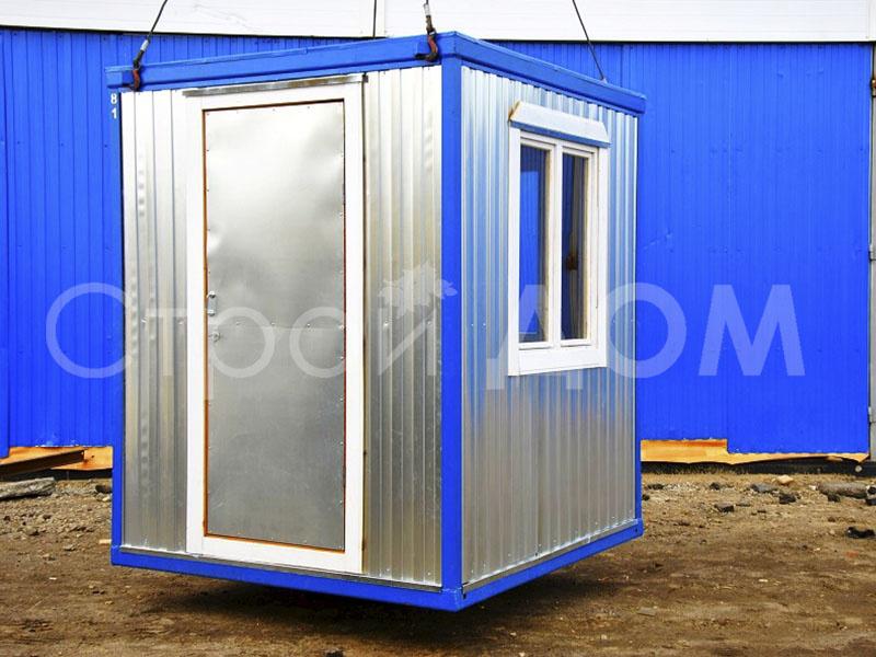 Блок-контейнер длиной 2 метра от производителя в Клину. Доставка недорого по Московской области.
