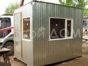 3 метровый блок-контейнер металлический недорого. Купить в Солнечногорске, Конаково, Клин.