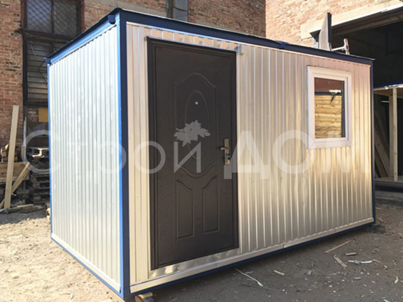 Блок-контейнер 4 метра железный от производителя в Клину. купить недорого.