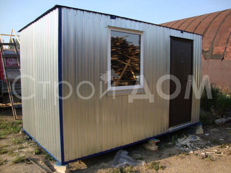 Железный блок-контейнер с отделкой внутри. Строительство по низкой цене в Клину.