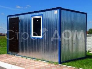 4 метровый блок-контейнер недорого. купить в Московской области.