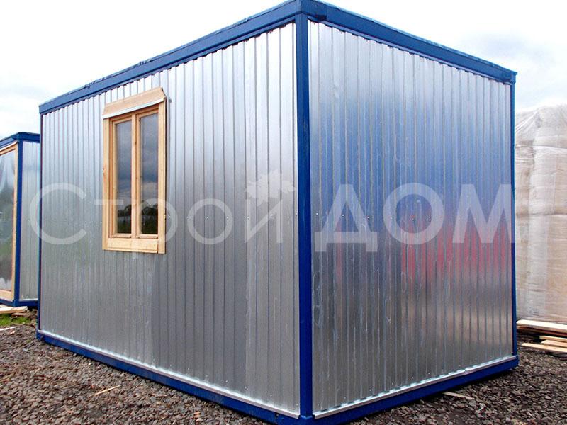 Блок-контейнер 5 метров для дачи в Московской области. Купить бытовка Клин.