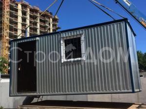 Блок-контейнер на даче с доставкой в Клин, Конаково, Солнечногорск.
