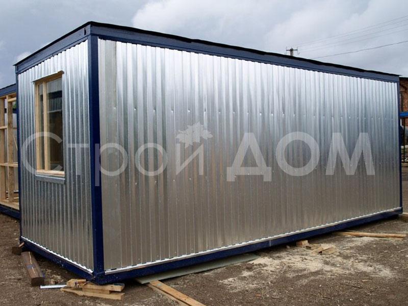 ГОСТ блок-контейнер в Клину от производителя длиной 6 метров с утеплением. Купить недорого.
