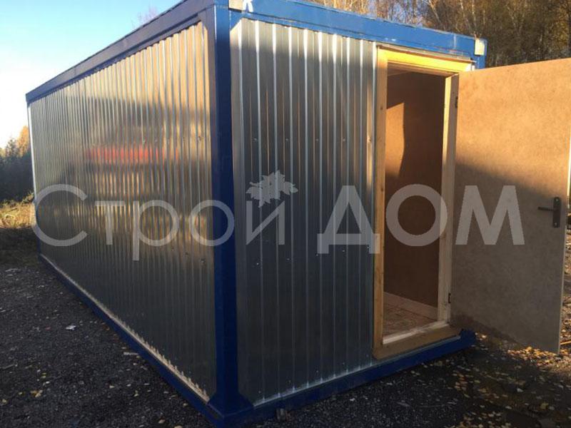 Блок-контейнер 6 метров ГОСТ недорого в Клину. Купить и заказать доставку.