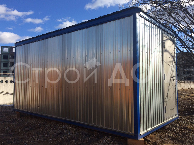 Блок-контейнер 6 метров ГОСТ с доставкой. Строительство в Клину недорого.