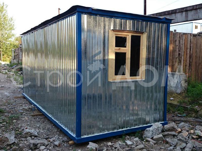 6 метровые контейнеры из металла по низкой цене. Заказать строительство в Клину.