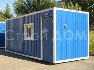 ГОСТ блок-контейнер металлический от производителя бытовок в Клину недорого.