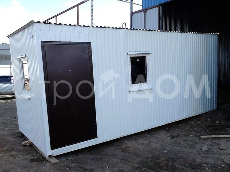 Блок-контейнер ГОСТ на заказ от производителя бытовок в Клину недорого.