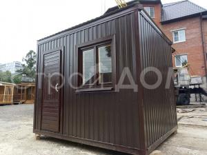 Железный блок-контейнер 3 метра от производителя в Клину. Купить и заказать доставку в Московской области недорого.