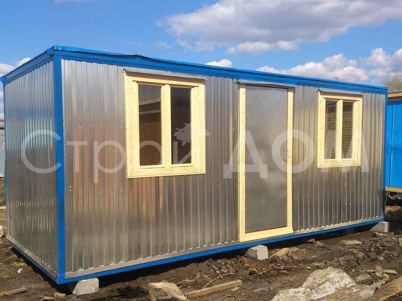 Железный, металлический блок-контейнер по низкой цене в Клину, Солнечногорске, Конаково.