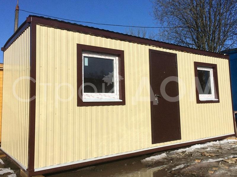 Распашонка блок-контейнер с доставкой в Клин, Солнечногорск, Конаково по низкой цене. Купить от производителя.