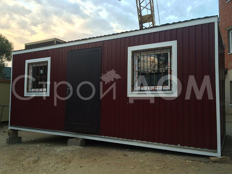 Мобильный железный офис блок-контейнер в Клину. Купить недорого.
