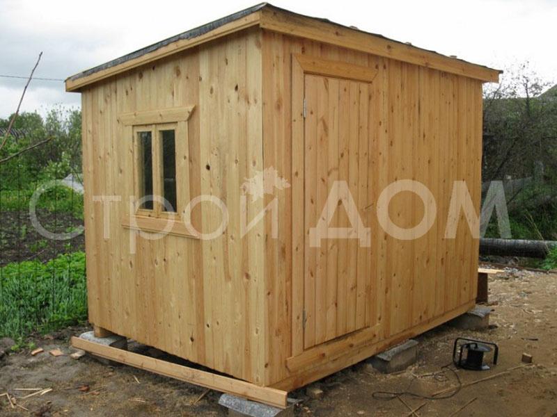 2 метровый хозблок деревянный в Клину недорого. Купить с доставкой.