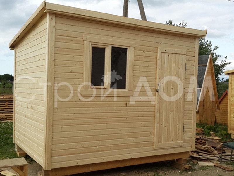Хозблок деревянный 3 метра в Клину, Конаково, Солнечногорске. Купить недорого.