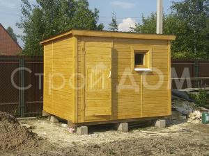 Деревянный трёхметровый хозблок по низкой цене в Клину, Конаково, Солнечногорске.