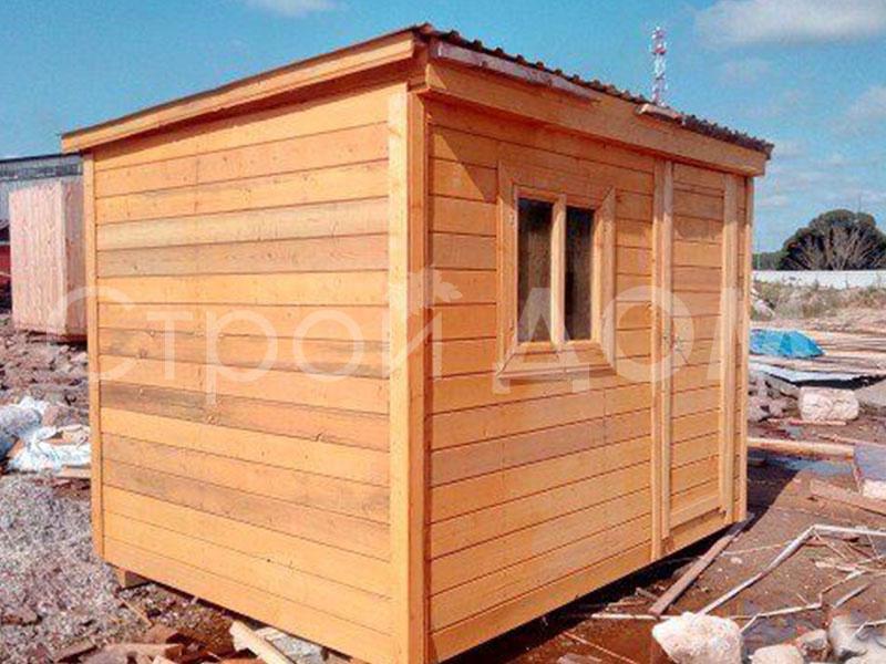 Хозблок дачный 3 метровый с дсотавкой на участок в Клину, Конаково, Солнечногорск. Купить недорого.