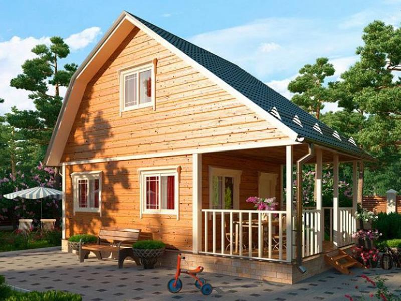 Строительство дачных домов по низкой цене в Клину, Солнечногорске, Конаково.